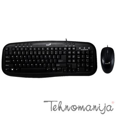 GENIUS Tastatura i miš KM-210 SRB