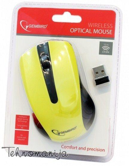 GEMBIRD Bežični miš MUSW 101 Y