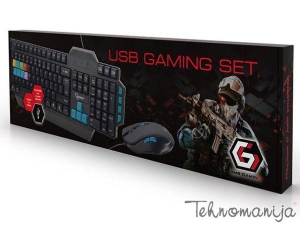 GEMBIRD tastatura i miš KBS UMG 01