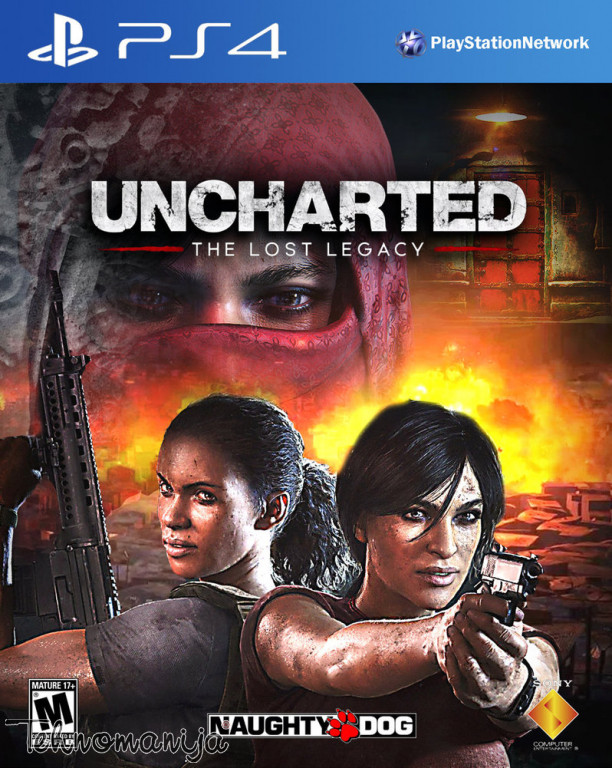 PS4 Igra UNCHARTED TLL, SONY