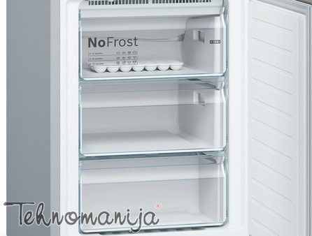 BOSCH Kombinovani frižider KGN 39XI38, No Frost