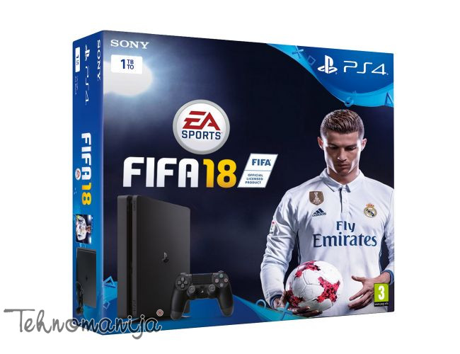 SONY PLAYSTATION 4 PRO 1 TB + FIFA 18