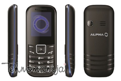 ALPHA mobilni telefon D1 BLUE