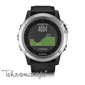 GARMIN Ručni Outdoor GPS sat FENIX 3 HR SILVER