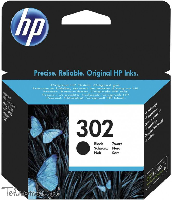 HP Ketridž F6U66AE