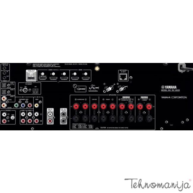 YAMAHA Av receiver RX V683 TI