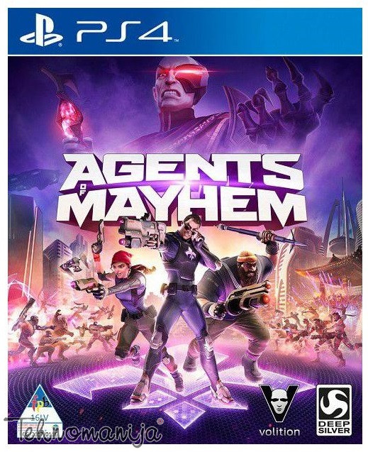 PS4 Igra AGENTS OF MAYHEM, DEEP SILVER
