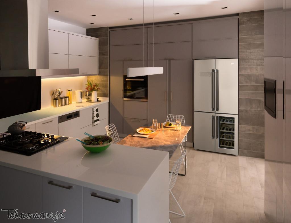BEKO Side by side frižider GN 1416220 CX, Neo Frost
