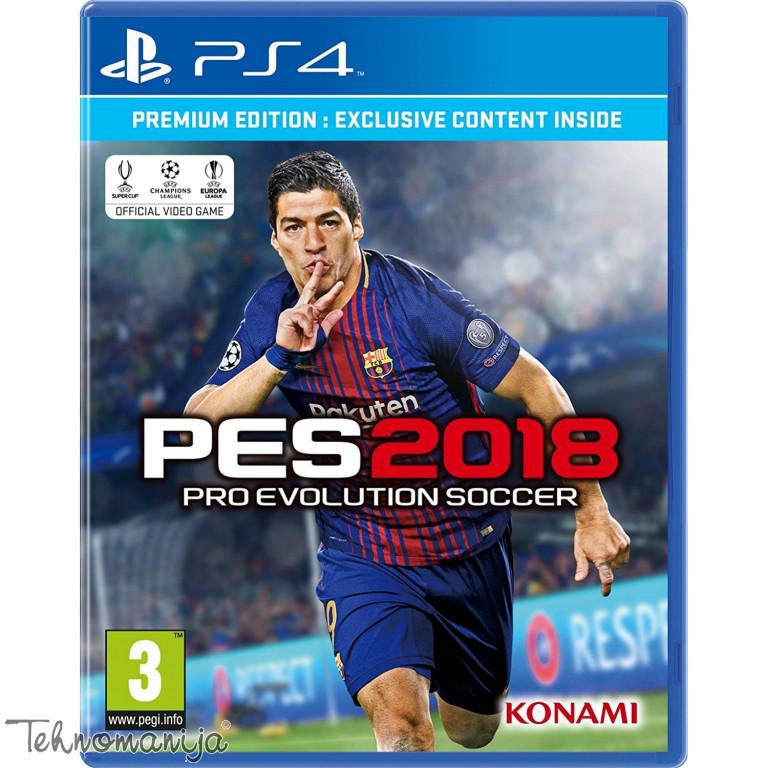 PS4 IgraPRO EVOLUTION SOCCER 2018 PREMIUM EDITION, KONAMI
