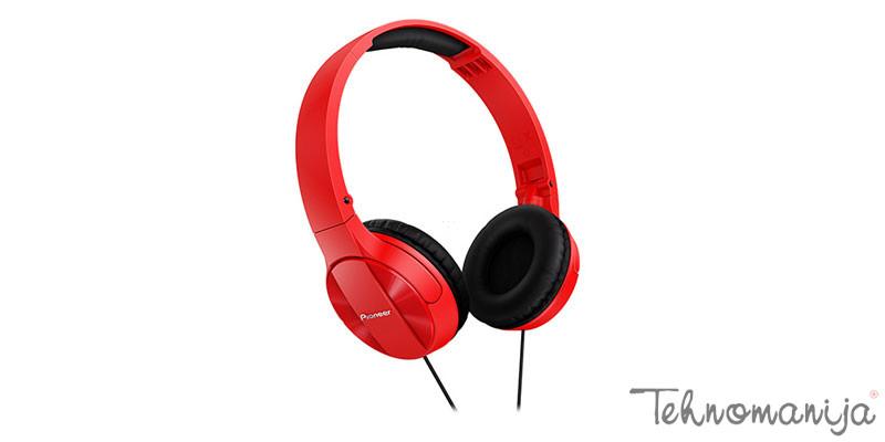 PIONEER Slušalice SE-MJ503-R RED