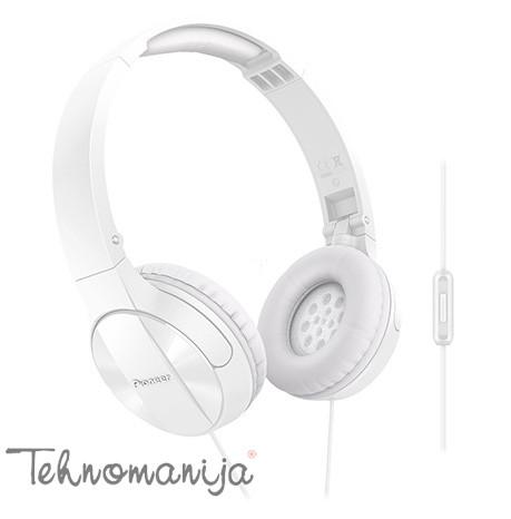 PIONEER Slušalice SE-MJ503T-W WHITE