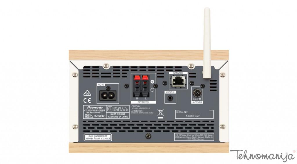 PIONEER Mini linija X-CM66D-W, WHITE