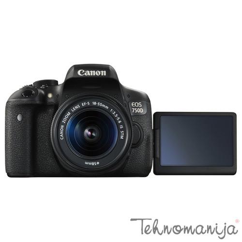 CANON DSLR fotoaparat EOS750 1855S+50 1,8S