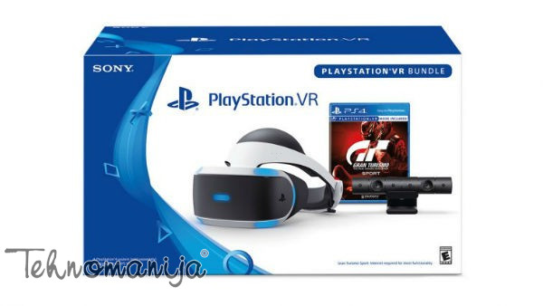 SONY Konzola PS4 VR + KAMERA + GTS