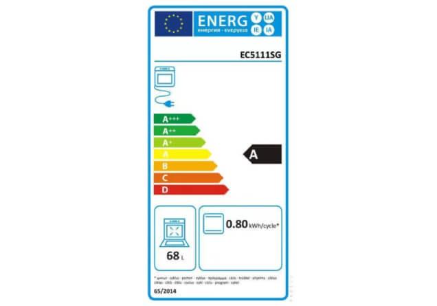 GORENJE Električni šporet EC 5111 SG, Konvencionalna rerna