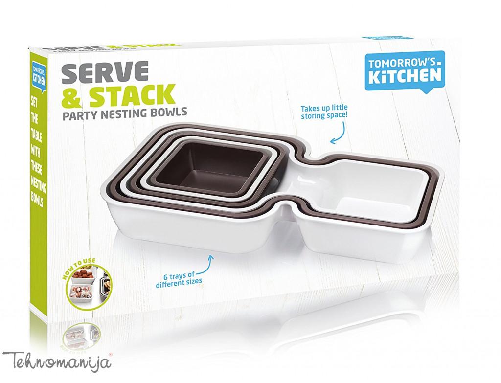 TOMORROWS KITCHEN Kuhinjski pribor POSUDA ZA POSLUŽIVANJE 1