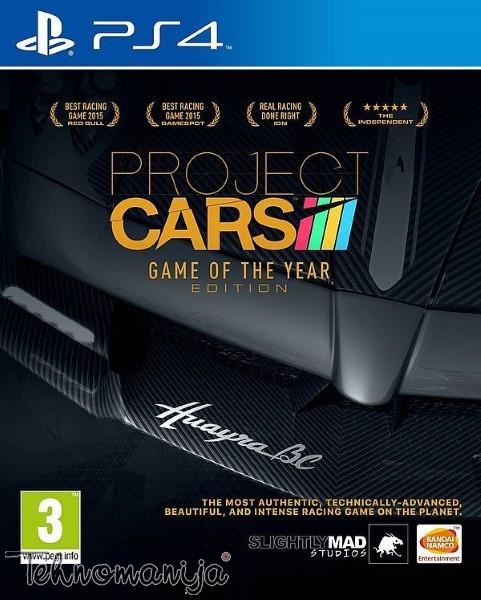 PS4 Igra PROJECT CARS GOTY, NAMCO BANDAI
