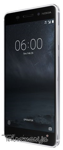 "NOKIA Mobilni telefon 6 SILVER DS, 5.5"", 3GB, 16Mpx"