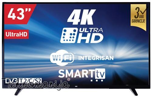 """VOX SMART Televizor 43DSW293V LED UHD, 43"""""""