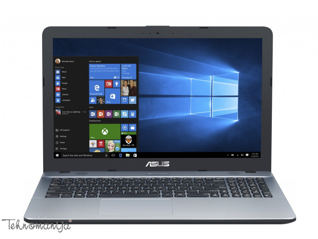 "ASUS Laptop X541UA GO1312T, 15.6"", 4GB, 1TB, Win10 Home"