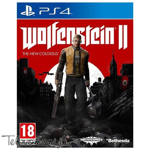PS4 Igra WOLFENSTEIN 2 THE NEW COLOSSUS, BETHESDA