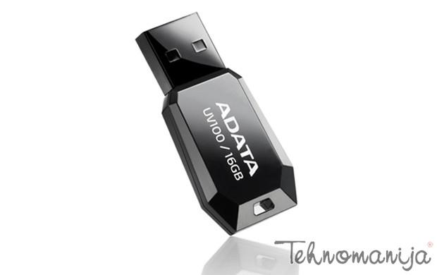 ADATA USB flash AUV100-16G-RBK CRNI