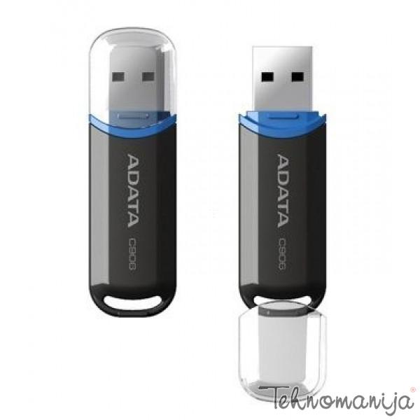 ADATA USB flash memorija AC906-32G-RBK CRNI
