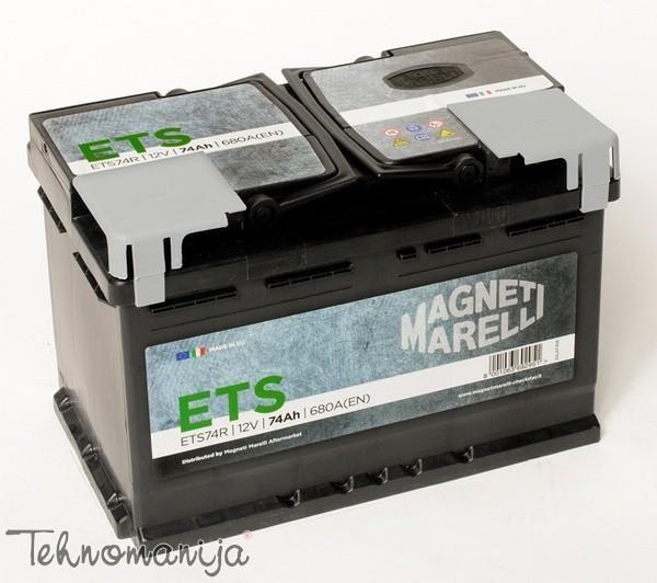 MAGNETI MARELLI Akumulator 74AH D+ MM