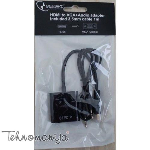 GEMBIRD Adapter A-HDMI-VGA-06