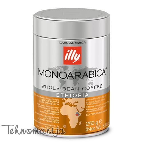 ILLY Kafa u zrnu ETHIOPIA 250G - ZRNO