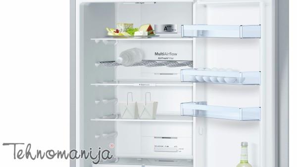 BOSCH Kombinovani frižider KGN39XI46, No Frost