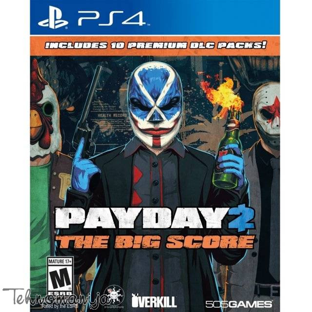 505 GAMES Igra PS4 PAYDAY 2 THE BIG SCORE