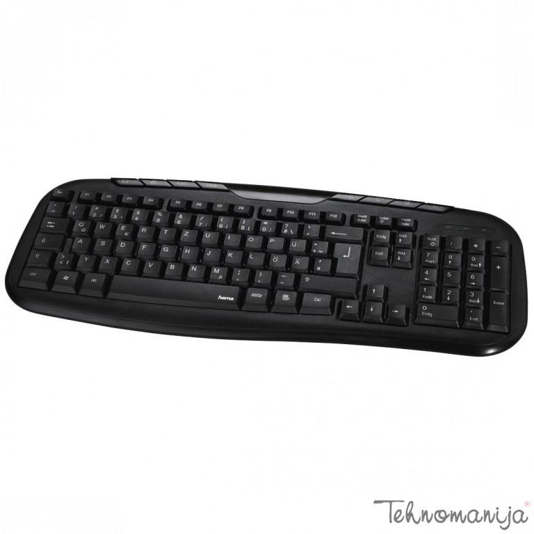 HAMA Tastatura CELLINO BLACK