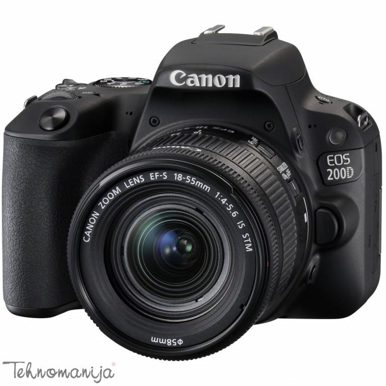 CANON SLR Fotoaparat EOS 200D 1855 IS