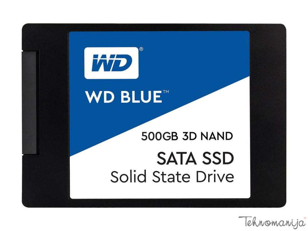 WESTERN DIGITAL SSD  WDS500G2B0A