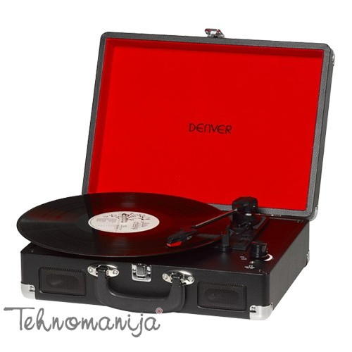 DENVER Gramofon VPL-120 CRNI