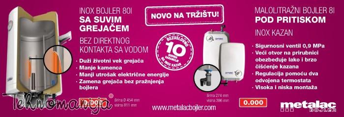 METALAC Bojler MB 80 E2I SG