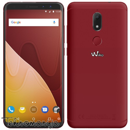 WIKO Smart telefon VIEW PRIME 4G CHERRY RED, 4GB, 16.0MP