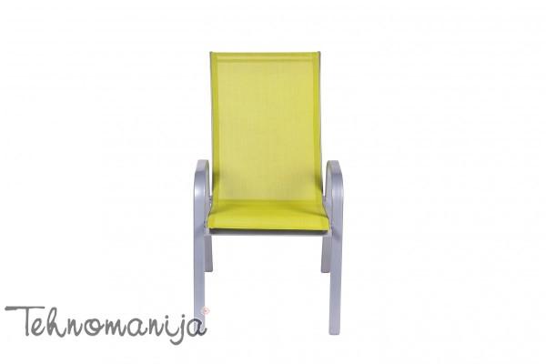AGROMARKET Baštenska stolica Como - Žuta