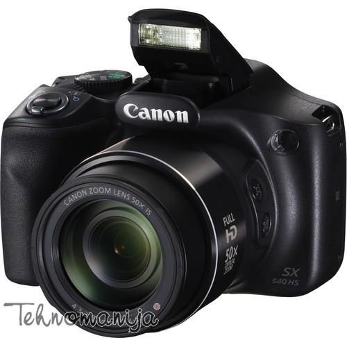 CANON Kompaktni fotoaparat SX540HS BK EU23