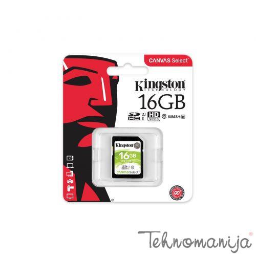 KINGSTON Memorijska kartica SDS 16GB