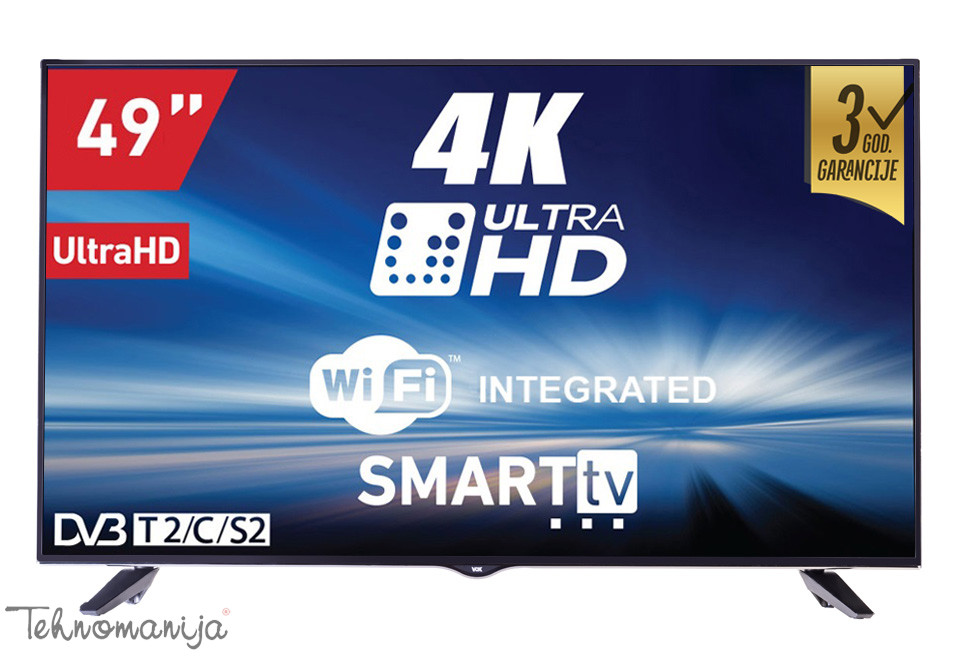 VOX TV LED UHD 49DSW400U
