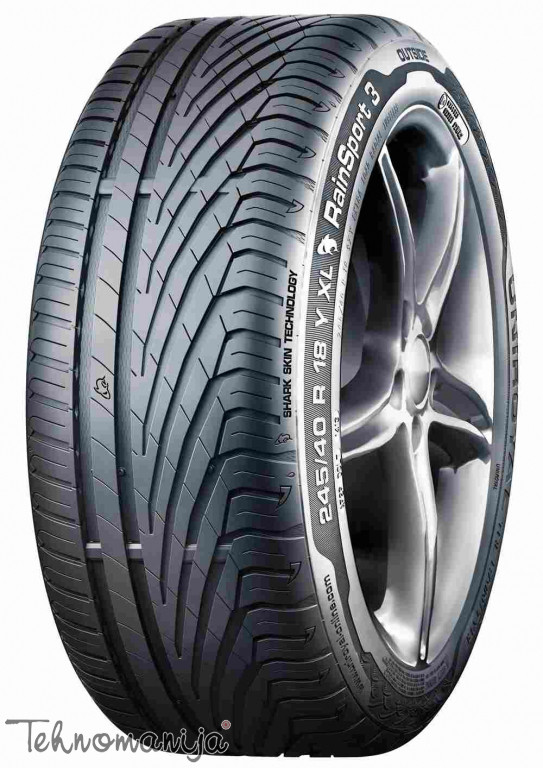 UNIROYAL Letnje auto gume 225/55R16 95Y RainSport 3