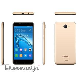 OUKITEL Smart telefon C9, 1 GB, 5 Mpix, Sivi