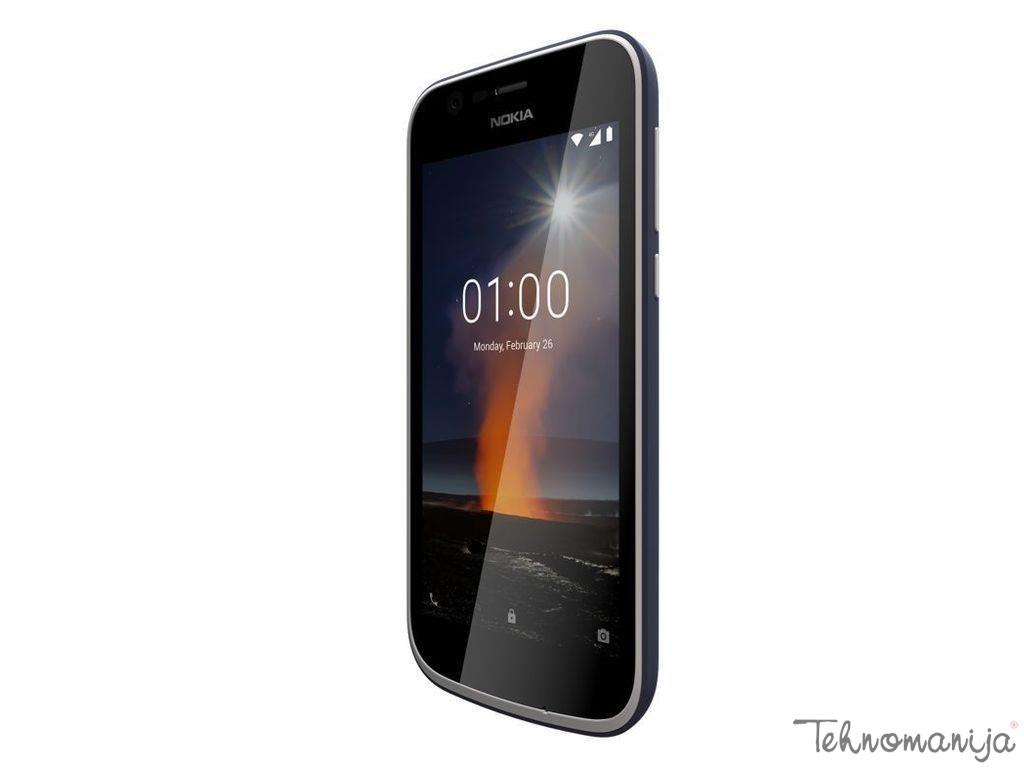 """NOKIA Mobilni telefon 1 DARK BL DS 4.5"""", 1GB, 5 Mpix"""