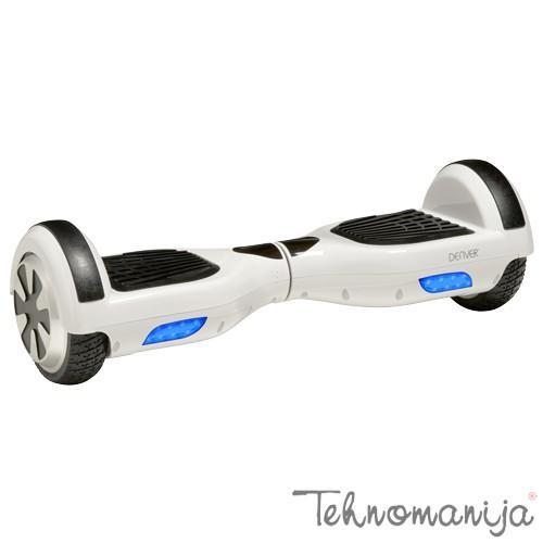 """DENVER Hoverboard DBO-6501 Beli, 6.5"""", do 100 kg, 2x350W"""