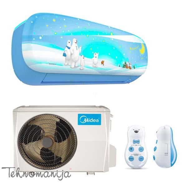 MIDEA Klima uređaj inverter Kid Star MSEABU 09HRFN1, Plava