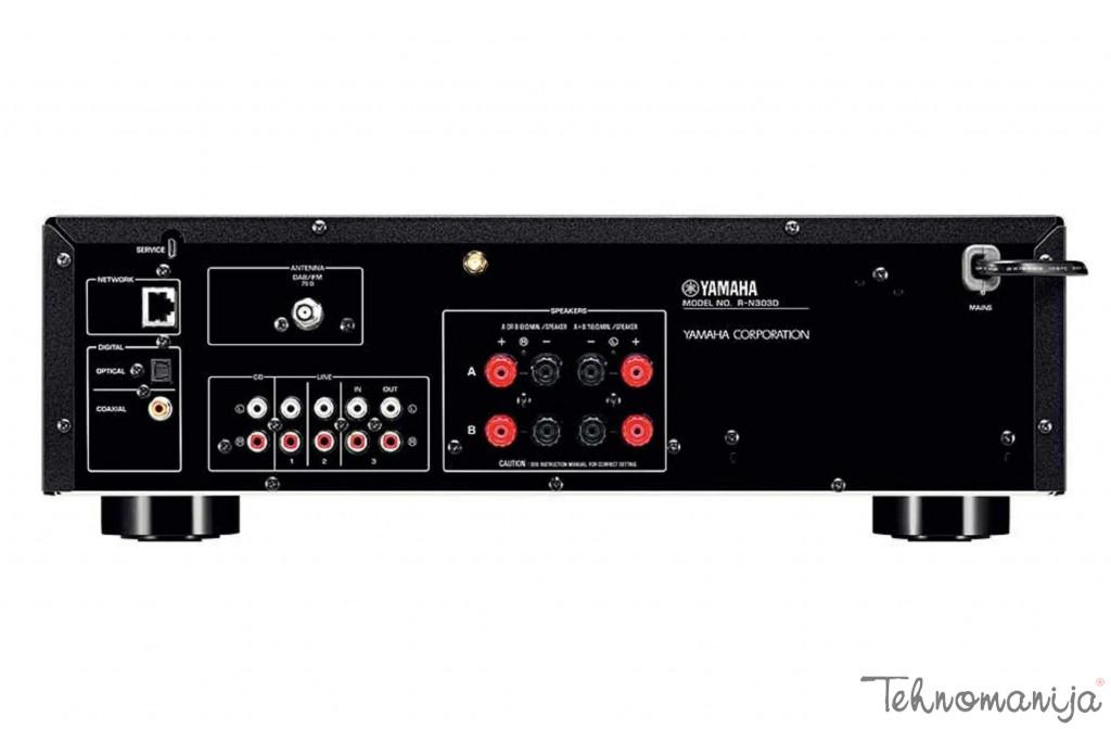 YAMAHA Receiver R-N303D BLACK