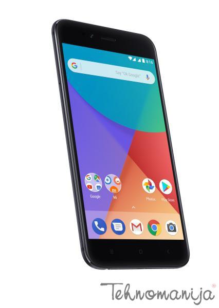"""XIAOMI Mobilni telefon MI A1 4/31 GB Crni 5.5"""", 4 GB, 12 Mpix"""