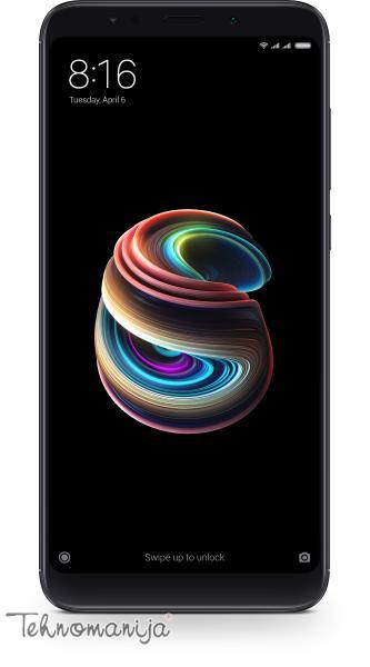 """XIAOMI Mobilni telefon REDMI 5 PLUS 3/32 BK 5.99"""", 3 GB, 12 Mpix"""